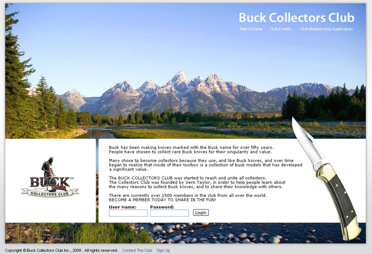 Buck Knives - Email, Website content