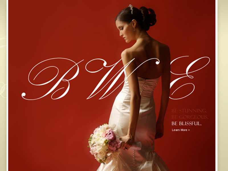 "Blissful Weddings "" Events - Website"
