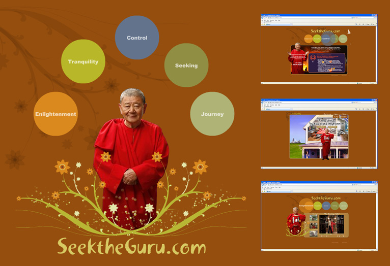 Comcast: Seek the Guru Campaign - Website, Flash games