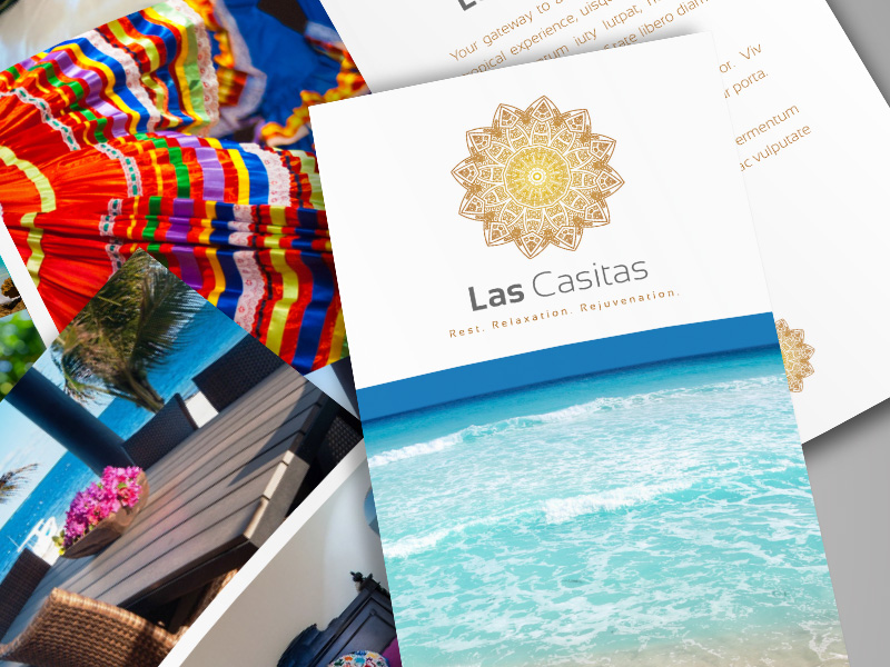 JBD - Las Casitas - Logo Design, Trifold Brochure, Marketing Materials