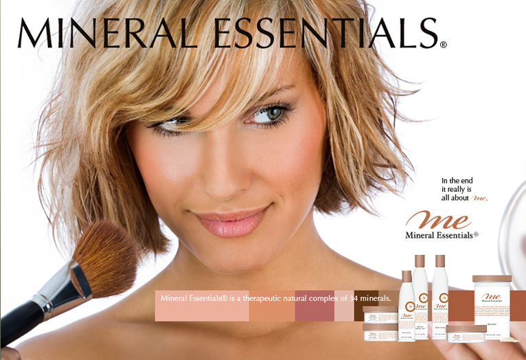 Mineral Essentials - Website Design, Package Design